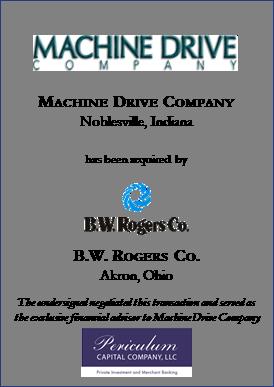 Machine Drive Company